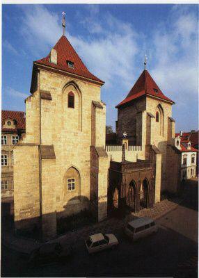 Praha 1 - Malá Strana, kostel Panny Marie pod řetězem