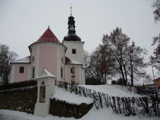 Kuřim, kostel sv. Maří Magdalény
