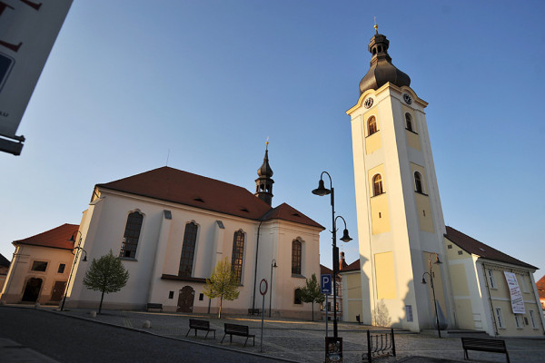 Dobřany, kostel sv. Mikuláše