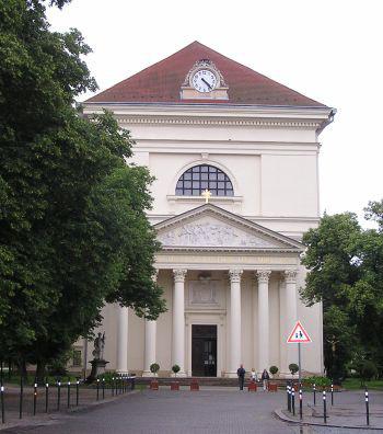 Slavkov u Brna, kostel Vzkříšení Páně s kaplí sv. Jakuba