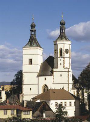 Uničov, kostel Nanebevzetí Panny Marie