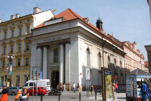 Praha 1 - Nové Město, kostel sv. Kříže
