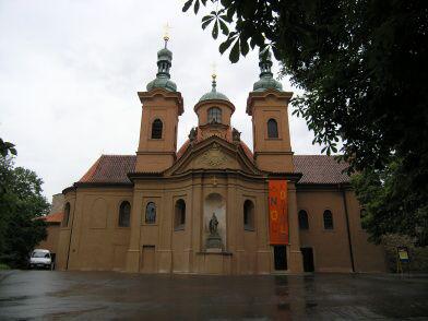Praha 1 - Malá Strana, katedrální chrám sv. Vavřince
