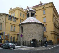 Praha 1 - Staré Město, rotunda Nalezení sv. Kříže