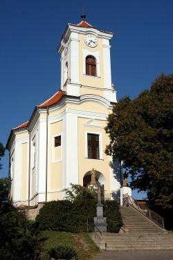 Vlkoš u Kyjova, kostel Nanebevzetí Panny Marie