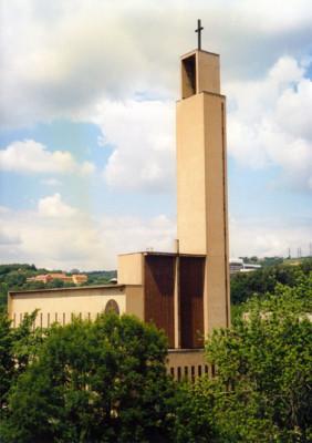 Praha 5 - Košíře, kostel sv. Jana Nepomuckého