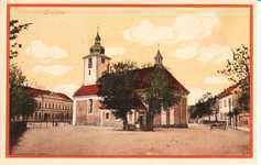 Lenešice, kostel sv. Šimona a Judy