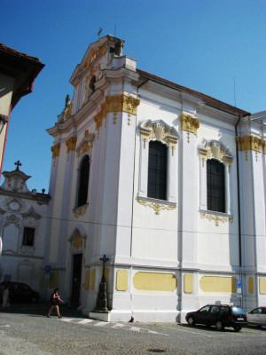 Litoměřice, kostel sv. Jakuba, klášter