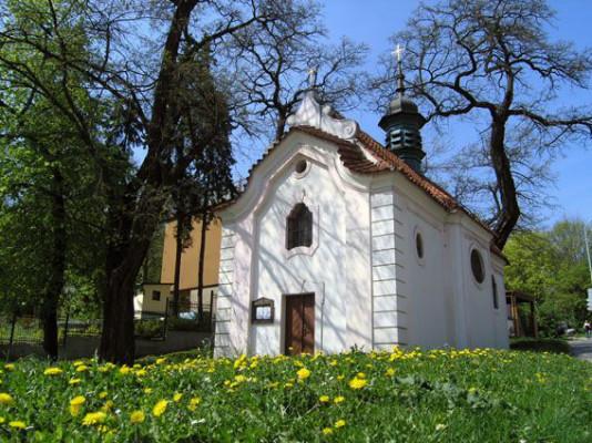 Praha 5 - Košíře, kaple Nanebevzetí Panny Marie, Klamovka