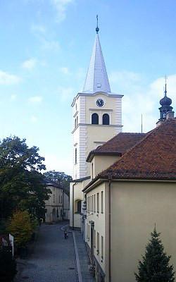 Valašské Meziříčí, kostel Nanebevzetí Panny Marie