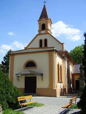 Otrokovice-Kvítkovice, kaple sv. Anny