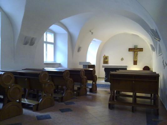 Olomouc, kaple Božího milosrdenství - ACHO