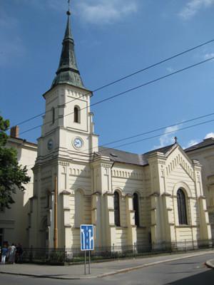 Jihlava, kostel apoštola Pavla