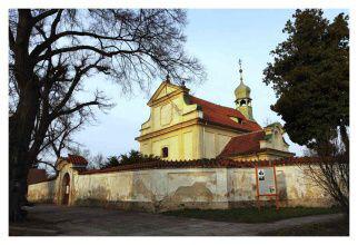 Neratovice-Lobkovice, kostel Nanebevzetí Panny Marie