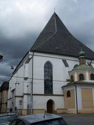 Olomouc, dominikánský kostel Neposkvrněného početí Panny Marie