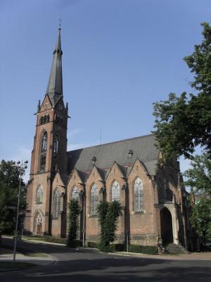 Teplice-Šanov, kostel sv. Alžběty Uherské