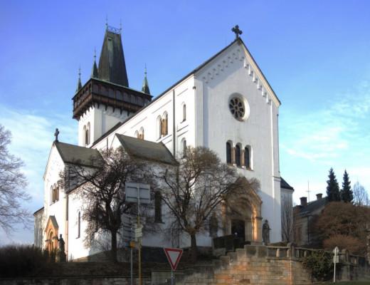 Semily, děkanský kostel sv. Petra a Pavla