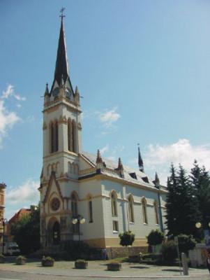 Jablonec nad Nisou, kostel Dr. Farského