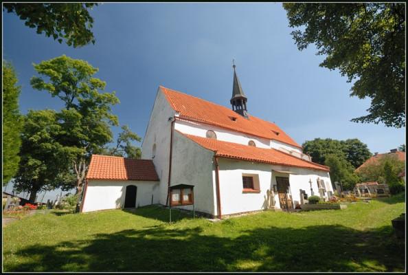 Drážov-Dobrš, kostel Zvěstování Panny Marie