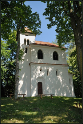 Drážov-Dobrš, kaple sv. Jana a Pavla