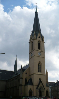 Liberec, kostel sv. Antonína Velikého