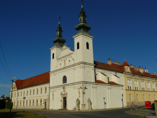 Valtice, kostel sv. Augustina