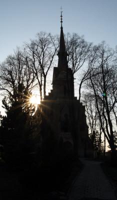 Tvarožná, kostel sv. Mikuláše