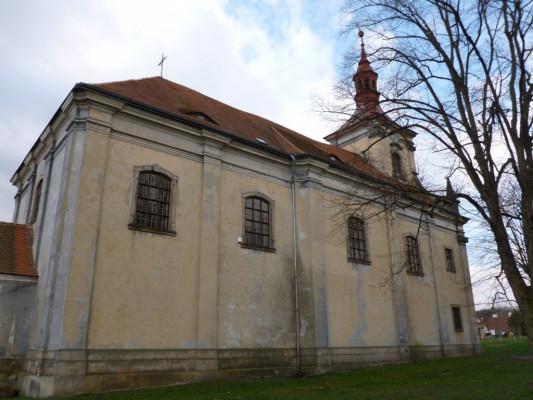Osek, kostel sv. Petra a Pavla