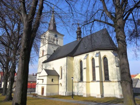 Skuteč, kostel Nanebevzetí Panny Marie
