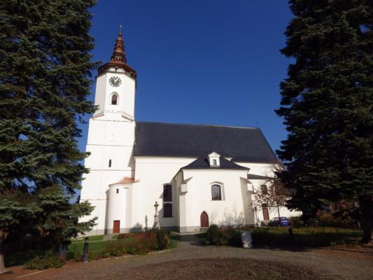 Bílovec, kostel sv. Mikuláše