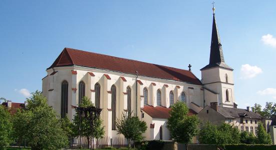 Litomyšl, kostel Povýšení Svatého Kříže