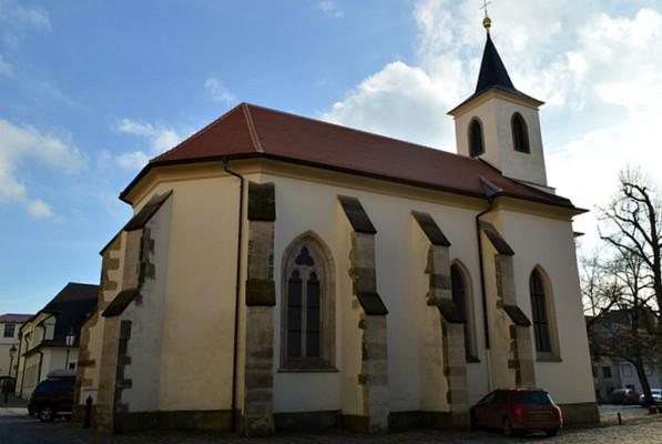 Litomyšl, kostel Rozeslání svatých apoštolů