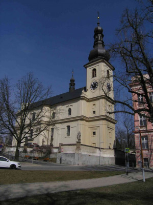 Lysá nad Labem, kostel Narození sv. Jana Křtitele