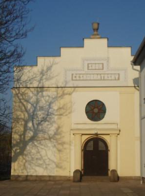 Dvůr Králové nad Labem, kostel Českobratrské církve evangelické