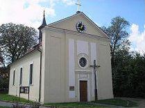 Praha-Koloděje, kostel Povýšení sv. Kříže