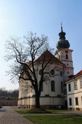 Praha 6 - Břevnov, bazilika sv. Markéty