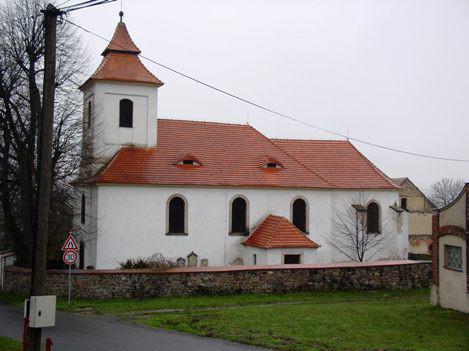 Velké Chvojno - Arnultovice, kostel Všech svatých