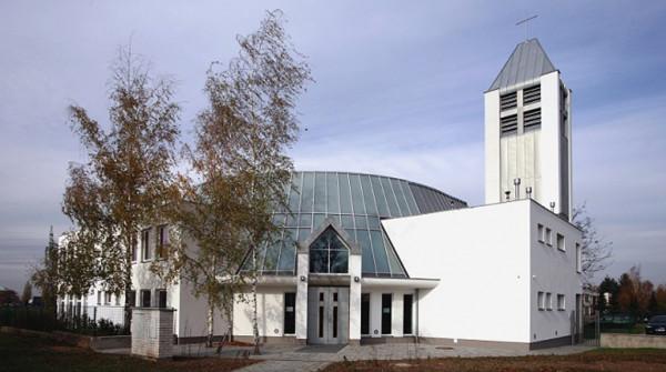 Praha 11 - Chodov, kostel Milíče z Kroměříže