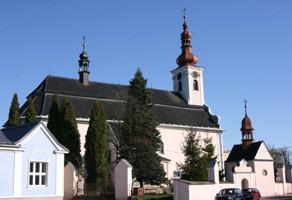 Paskov, kostel sv. Vavřince