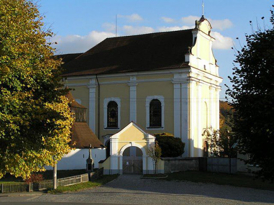 Bojanov, kostel sv. Víta
