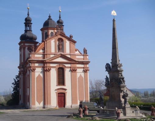 Valeč, kostel Nejsvětější Trojice