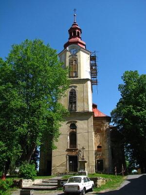 Stráž pod Ralskem, kostel sv. Zikmunda