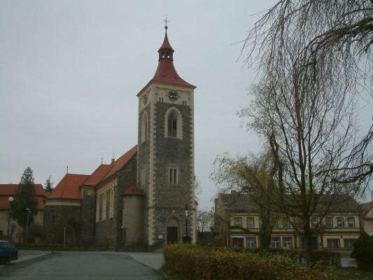 Proseč u Skutče, kostel sv. Mikuláše
