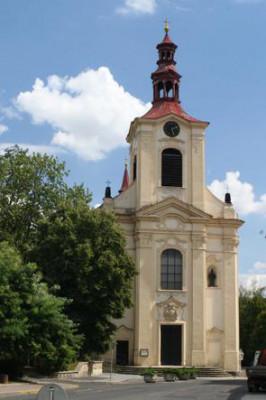 Lovosice, kostel sv. Václava