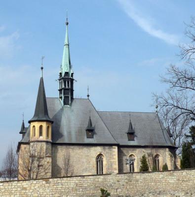 Louny, kostel sv. Petra  , hřbitov