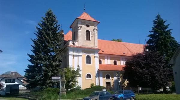 Dašice, kostel Narození Panny Marie