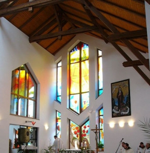 Šternberk, klášterní kaple sester klarisek-kapucínek