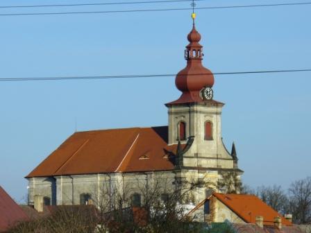 Jeníkov, kostel sv. Petra a Pavla