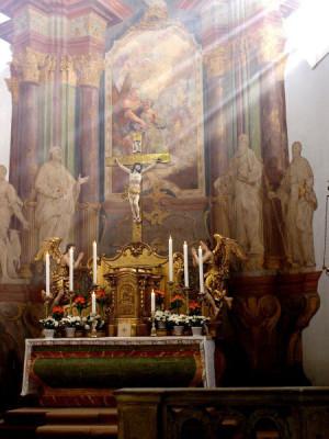 Třebechovice pod Orebem, kostel sv. Ondřeje