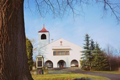 Chotiněves, evangelický kostel